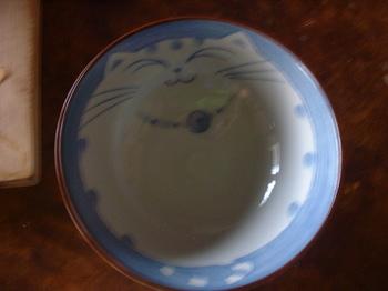 猫 お茶碗