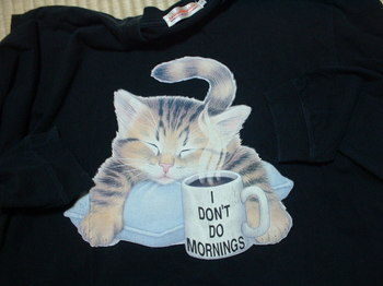 猫 シャツ